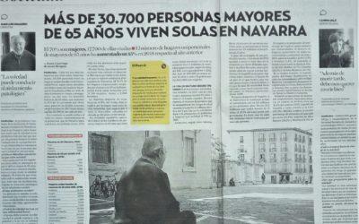 MÁS DE 30.700 PERSONAS MAYORES DE 65 AÑOS VIVEN SOLAS EN NAVARRA