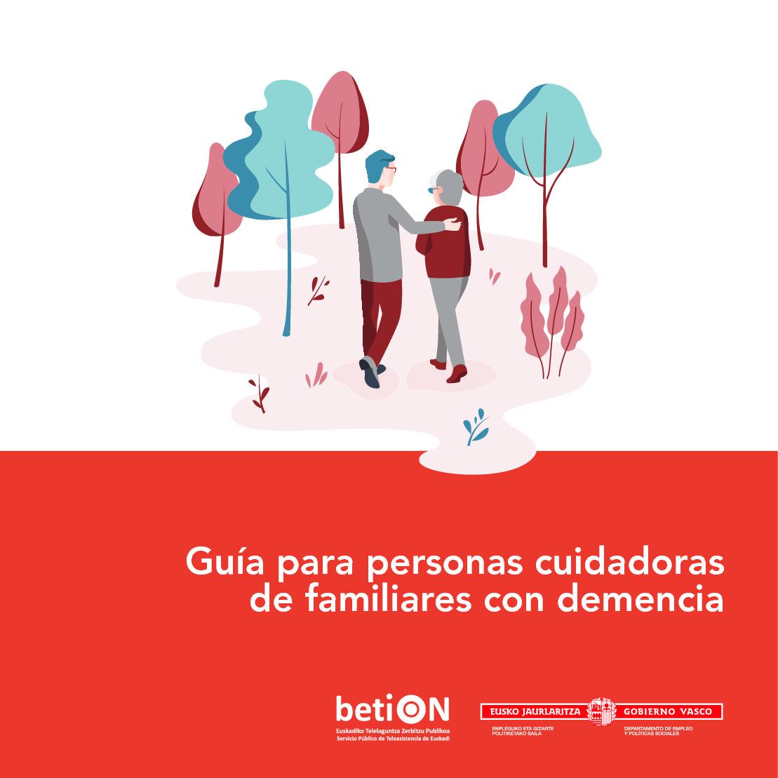 Guía para personas cuidadoras de familiares con demencia